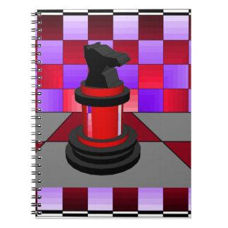 Ajedrez óptico CricketDiane 2013 del caballero Libretas Espirales