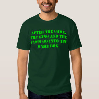 Ajedrez que dice la camiseta remera
