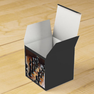 Ajedrez temático, pieza de ajedrez antigua del caja para regalo de boda