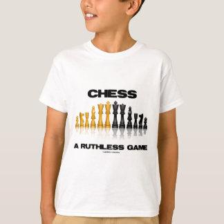 Ajedrez un juego despiadado (juego de ajedrez remeras