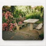 Ajedrez y rosas tapetes de ratón