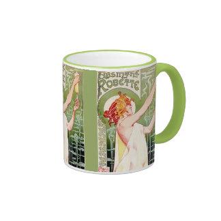 Ajenjo de hadas verde tazas de café