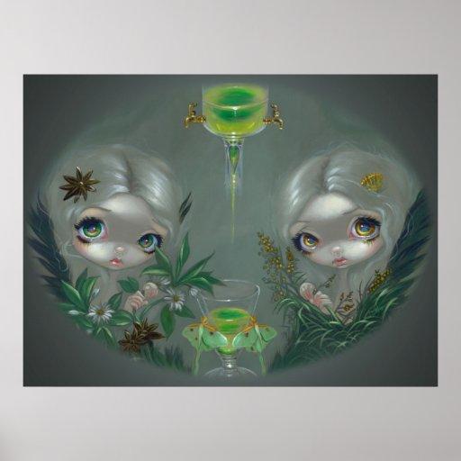 Ajenjo: Hada de la IMPRESIÓN del ARTE del anís y