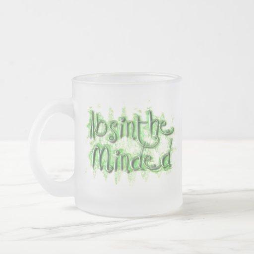 Ajenjo importado taza cristal mate