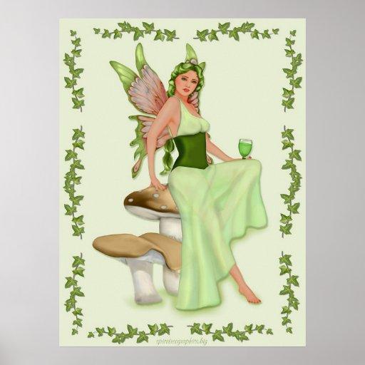 Ajenjo - la hada verde póster