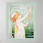 Ajenjo Robette (menta) Poster
