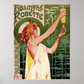 Ajenjo Robette Poster