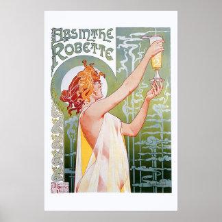 Ajenjo Robette Póster