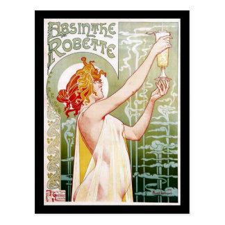 Ajenjo Robette Tarjeta Postal