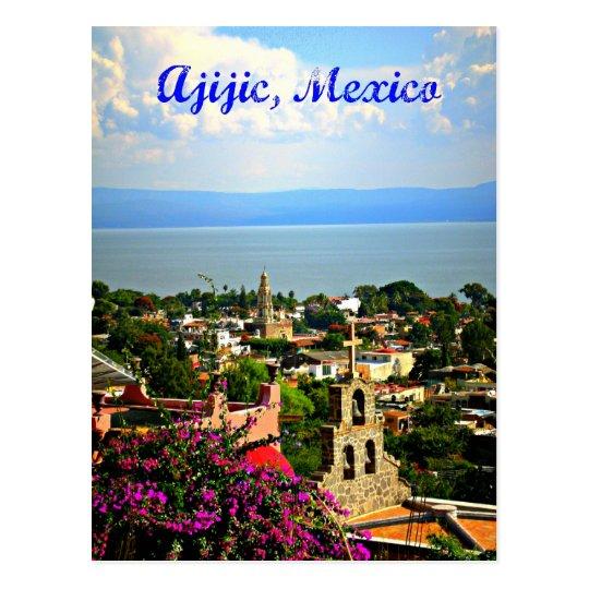 Ajijic Village Mexico Postcard