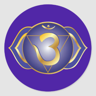 ajna or third eye chakra Sticker
