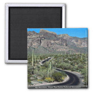Ajo Mountains, Organ Pipe Cactus National Monument Magnet
