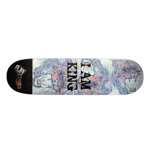 AJR Boards- I AM KING - Customized Skate Deck