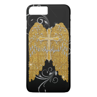 AJR-GS-3-angels-wings-BLK.jpg iPhone 8 Plus/7 Plus Case