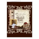 AJR_ICON-10_Prayer-Chocolate-1c Greeting Card