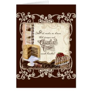 AJR_ICON-10_Prayer-Chocolate-1c Tarjeta De Felicitación
