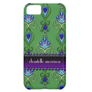 AJR-PAPER-Art-Nov-Peacock-Feathers-3b2.jpg Case For iPhone 5C
