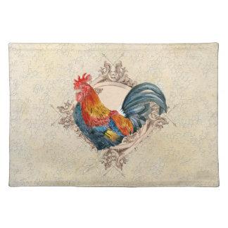 AJR-PAPER-Black-Vintage-Rooster-1b.jpg Placemat