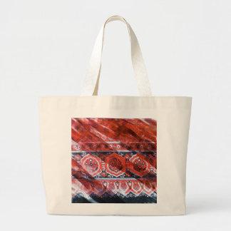 Ajrak o-1 large tote bag