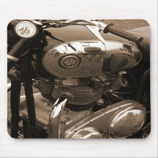 AJS motorcycle mousepad by Dana Tyrrell