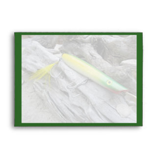 AJS Popper Green Greenie Saltwater Fishing Lure Envelope