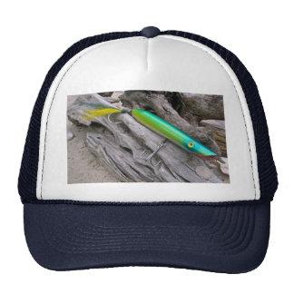 "AJS Popper ""Water Dragon"" Saltwater Fishing Lure Trucker Hat"