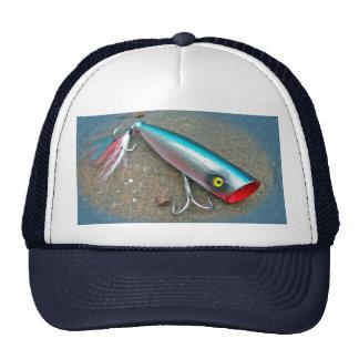 AJS Saltwater Lure Popper Blue Dragon Items Trucker Hat