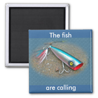 AJS Saltwater Lure Popper Blue Dragon Items Magnet