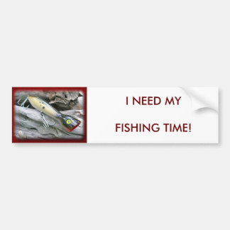 AJS Saltwater Lure Popper Coordinating Items Bumper Sticker