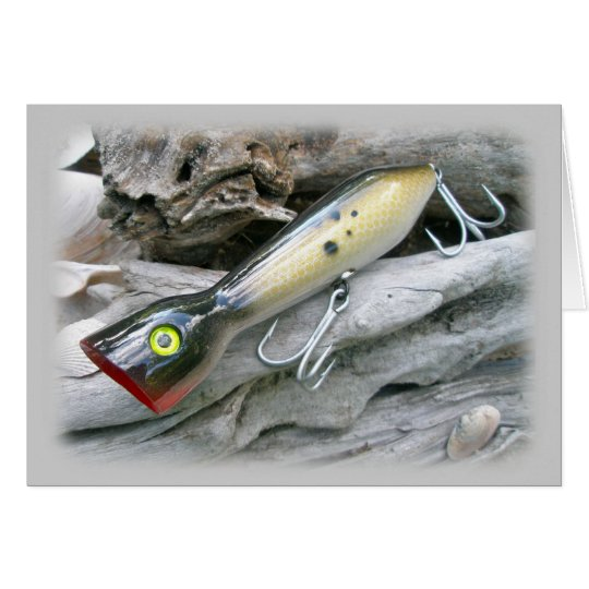 AJS Saltwater Lure Popper Coordinating Items Card