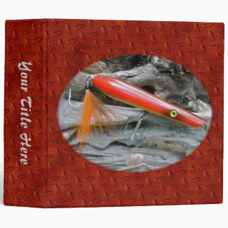 AJS Saltwater Lure Popper Firebird Binder