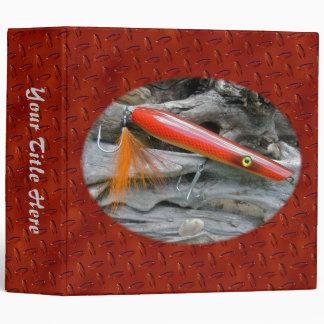 AJS Saltwater Lure Popper Firebird Binder