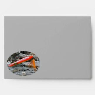 AJS Saltwater Lure Popper Firebird Envelope