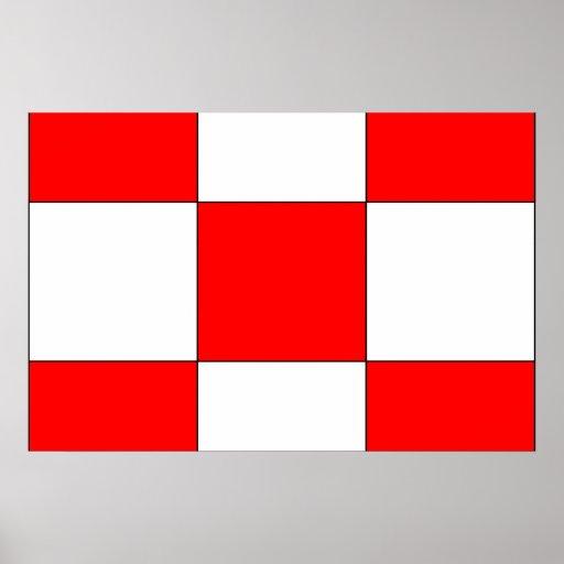 Ajustado, bandera de Panamá Impresiones