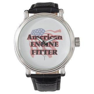 Ajustador americano del motor reloj de mano