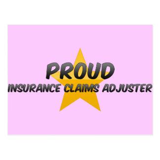 Ajustador de crédito de seguro orgulloso postal