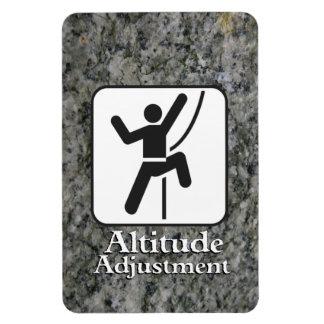 Ajuste de Altitiude - imán del escalador