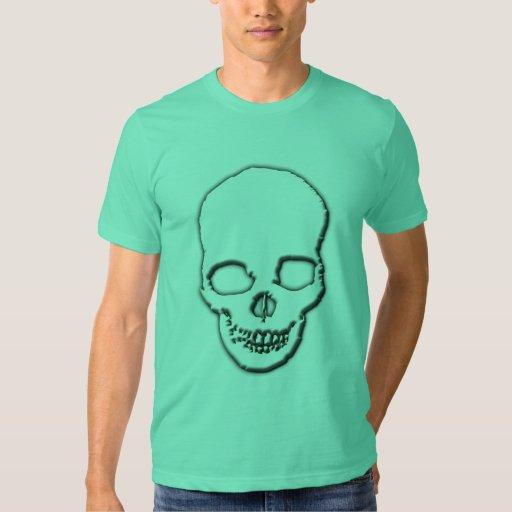 Ajuste de color del cráneo remeras