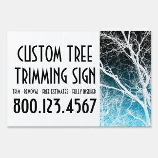 ajuste de encargo del árbol (árbol del fantasma) carteles