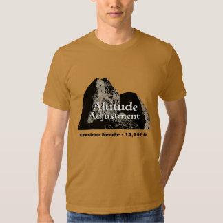 Ajuste de la altitud - camiseta remeras