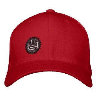 Ajuste de la flexión del mag 5 gorras de beisbol bordadas
