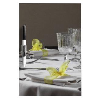 Ajuste de la tabla para el navidad o el otro tablero blanco
