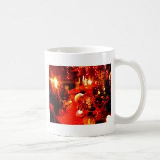 Ajuste de la tabla tazas de café