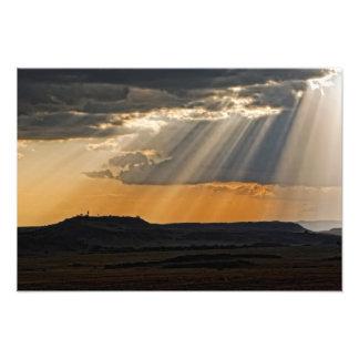Ajuste de Sun en el Masai Mara Cojinete