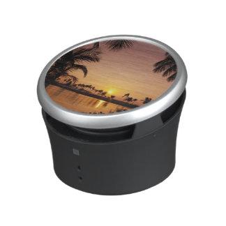 Ajuste de Sun en la bahía de Anaeho'omalu, isla gr Altavoz Bluetooth