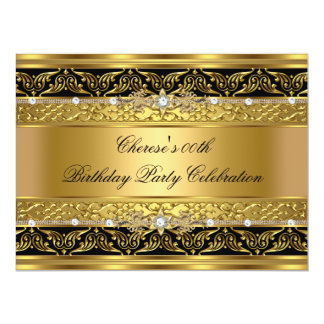 Ajuste elegante 3 del negro del diamante del oro comunicado personal
