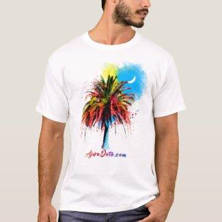 Ajwa Date White Moon YUCiP T-Shirt