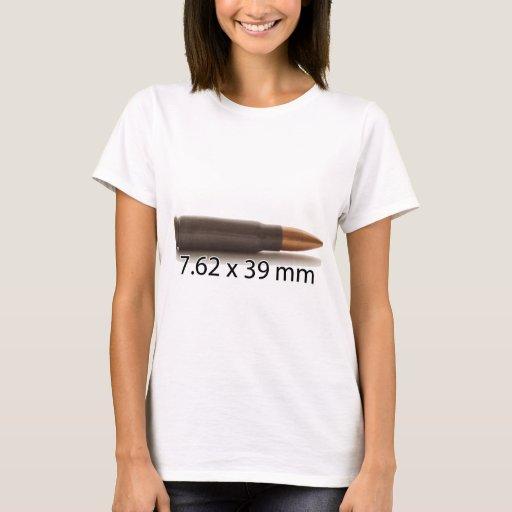 Zazzle AK47 7.62 x 39mm Ammo Round T-shirt