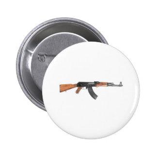 AK47 Assault rifle Pinback Button