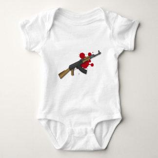 ak47 baby bodysuit